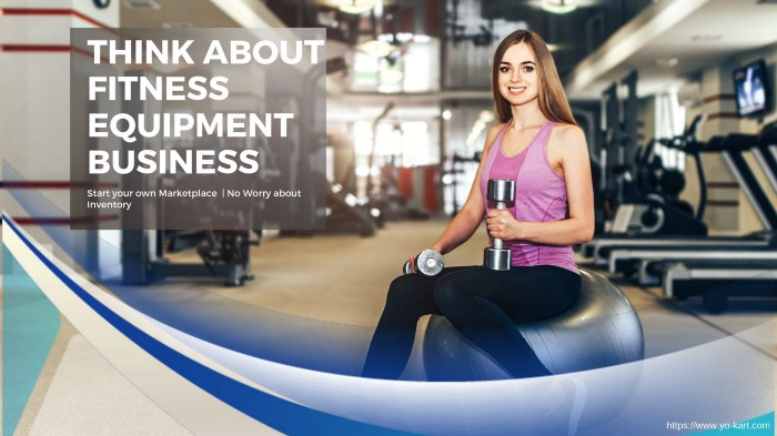 Fitness business Equipment Selling